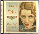 Anona Winn - Please Don't Mention It CD